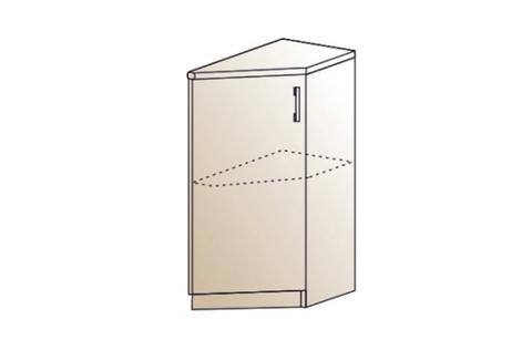 Шкаф нижний торцевой правый