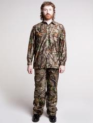 рубашка охотника защитной расцветки