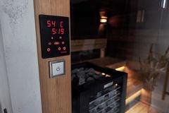 HARVIA Пульт управления в комплекте с блоком мощности Xenio CX170400 CX170 для печей до 16.5 kW