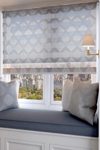Рулонная штора Изида серый