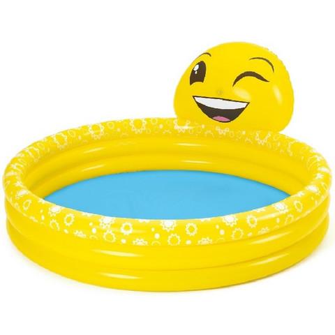 Детский надувной бассейн Bestway 53081 (165x144x69 см) / 25320