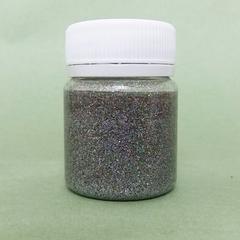 Лак-Глиттер, Серебро, основа сольвент, 40мл.