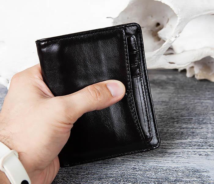 WL297-1 Кожаный кошелек с футляром для карточек фото 06
