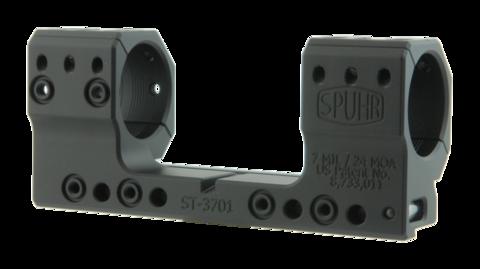 Тактический кронштейн SPUHR D30мм на винтовки Sako TRG-42/22, 41/21 и Tikka T3, H35мм, наклон 7MIL/24MOA (ST-3701)