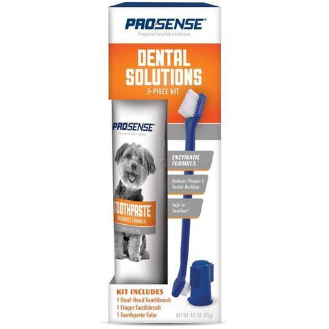 Pro-Sense Dental Starter Kit набор для ухода за зубами кошек и собак