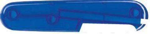 Задняя накладка для ножей Victorinox 91 мм, пластиковая, полупрозрачная синяя