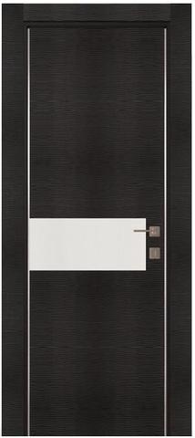 Дверь Zadoor AL3 Тара, цвет венге, остекленная