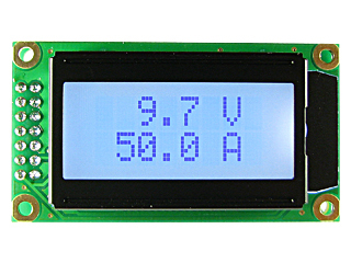 EK-SVAL0013PW-100V-E50A - цифровой вольтметр + амперметр постоянного тока