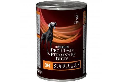 Влажный корм Pro Plan Veterinary Diets OM корм для собак при ожирении,  400 г