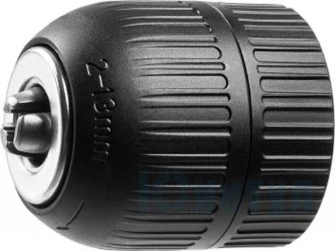 Патрон быстрозажимной STAYER для дрели, 13 мм, посадочная резьба 1/2