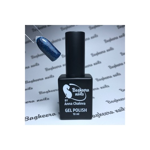 Bagheera Nails BN-102 гель-лак с блёстками 10 мл