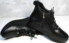 Ботинки низкие женские Evromoda 375-1019 SA Black
