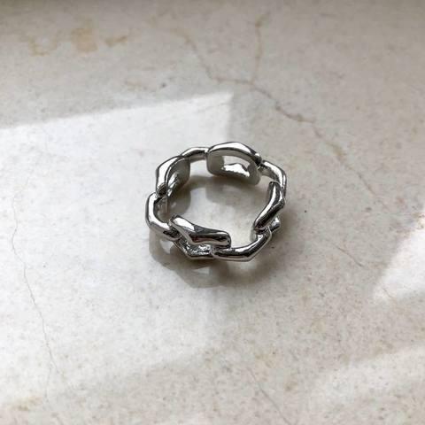 Кольцо Кастио, серебряный цвет