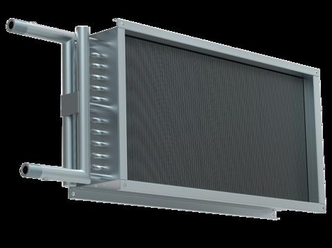 Водяной нагреватель для прямоугольных каналов WHR 500*300-3