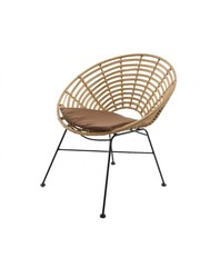 Кресло садовое Illumax Lissabon круглое