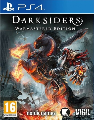 Darksiders - Warmastered Edition (PS4, русские субтитры)