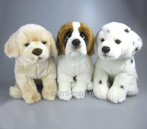 Мягкая игрушка Собака 27 см (Leosco)