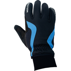 Перчатки JAFFSON WCG 43-0476 (чёрный/синий)
