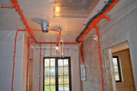 Монтаж электрики в доме, квартире, офисе
