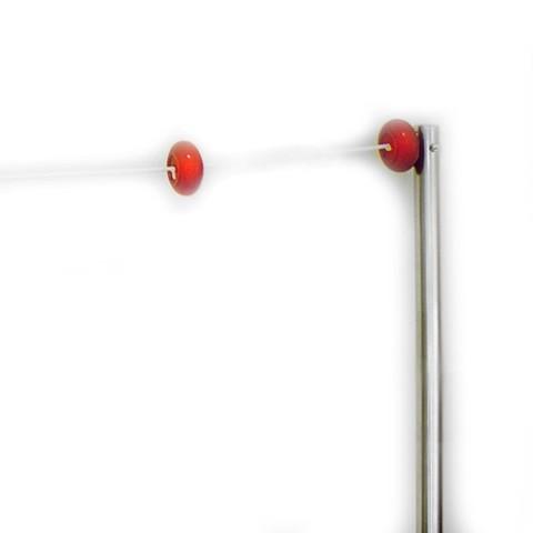 Стойки из нерж. стали AISI-316 с указателем фальстарта д.42,4мм, высота 1,8м (2шт)/009-0002/009-0696