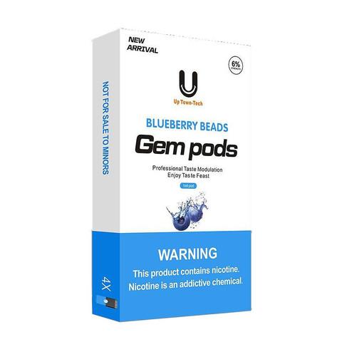 Gem Pods 4 картриджа Blueberry Beads - Черничные Ягоды