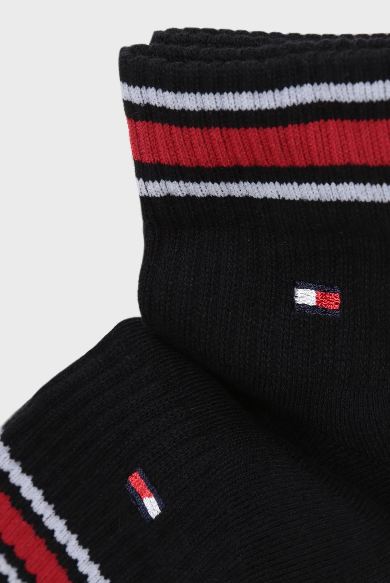 Мужские черные носки ICONIC SPORTS (2 пары) Tommy Hilfiger