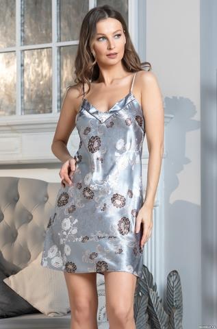 Сорочка женская Mia-Amore PARIS PIONS ПАРИЖ ПИОН 8991 серый