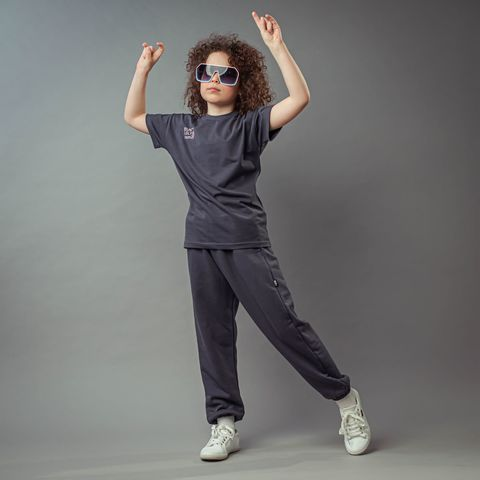 Bb team joggers for teens - Graphite