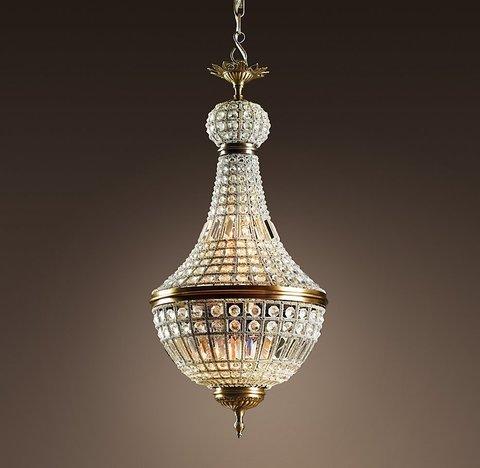 Подвесной светильник копия 19th C. French Empire Crystal Chandelier 18