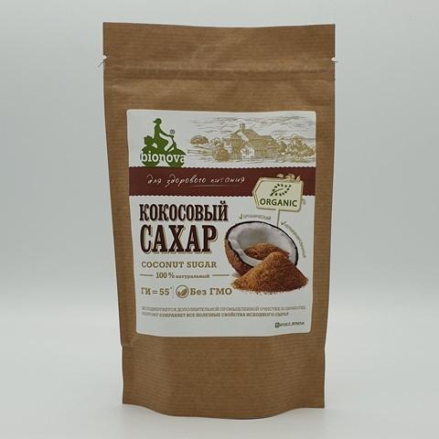 Кокосовый сахар органический BIONOVA, 200 гр
