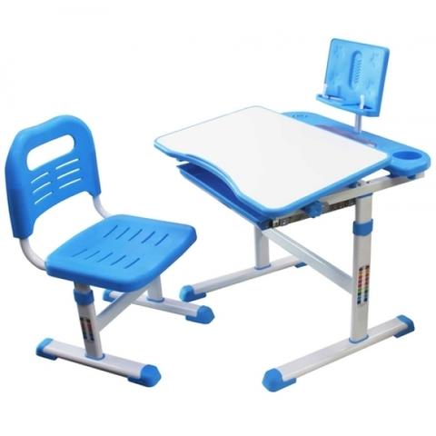 Комплект парта с подставкой для книг и стул RIFFORMA SET-17