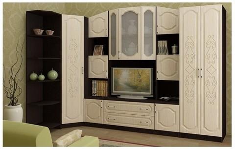 Модульная гостиная Макарена-3 МДФ, композиция 1