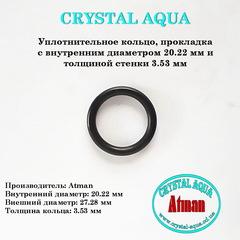 Уплотнительное кольцо, прокладка R 20.22x3.53 мм