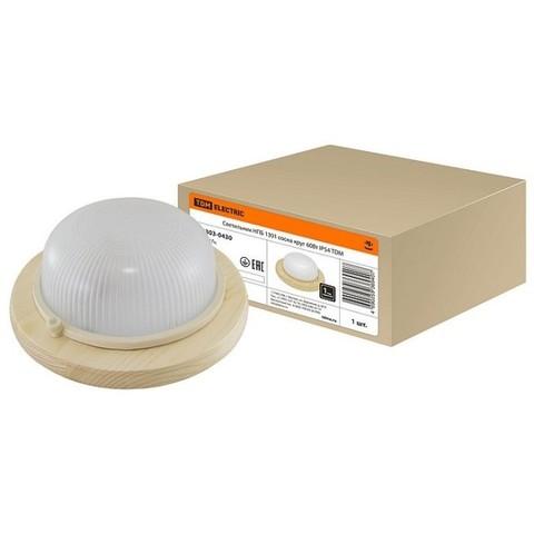 Светильник НПБ1301 сосна круг IP54