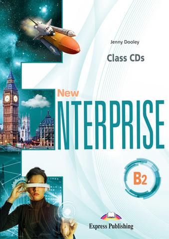 New Enterprise B2 - Class CD's (set of 4) - диски с аудированием к курсу