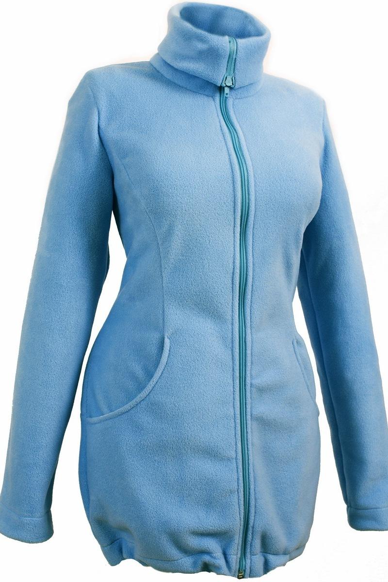 Слингокуртка для беременных 00901 голубой