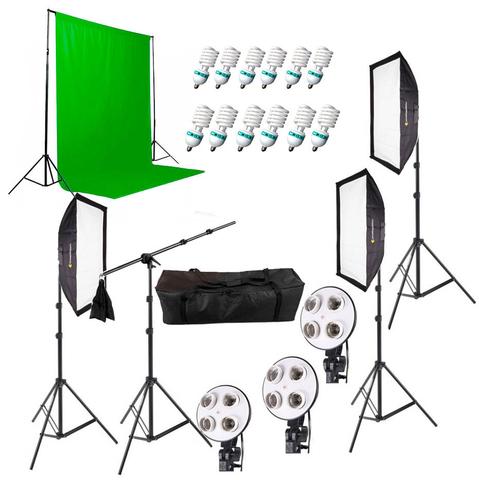 Комплект постоянного света Fotokvant FL-15 KIT комплект постоянного света