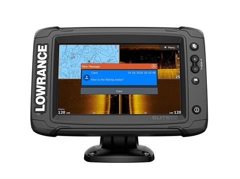 Эхолот-картплоттер Lowrance Elite-7 Ti² с датчиком Active Imaging 3-в-1