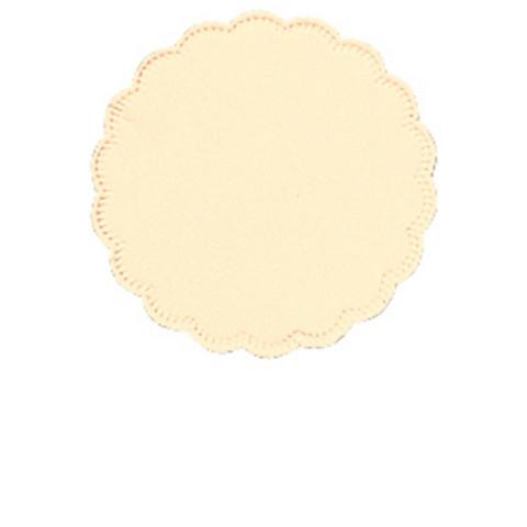 Салфетки бумажные Tork 474455 диаметр 9 см бежевые 8-слойные 250 штук в упаковке