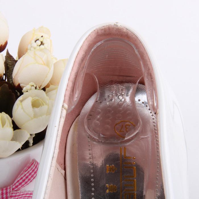 Силиконовые вставки в туфли с поддержкой пятки,1 пара