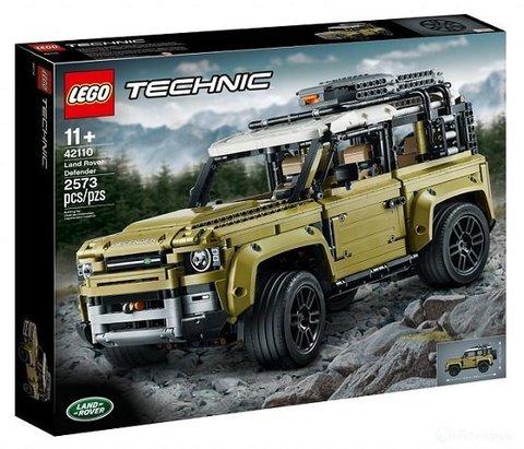 Lego konstruktor Land Rover Defender