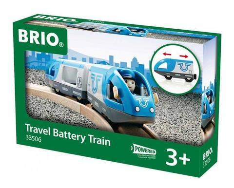 BRIO Поезд-экспресс с машинистом. Движение вперёд-назад на батарейках