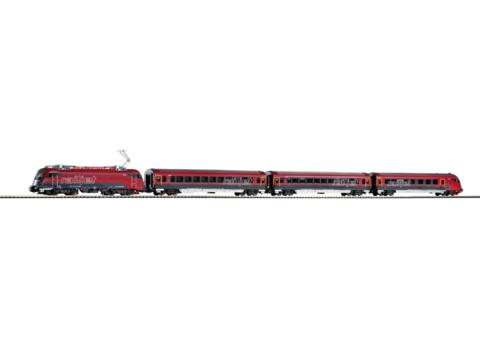 Piko 58132 Электровоз Set Rh 1216 Electric и пассажирские вагоны,1:87