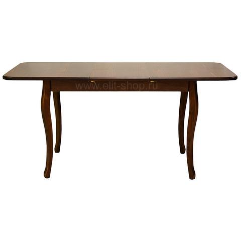 Стол № 73 Темный орех / прямоугольный / 120(160)х80см