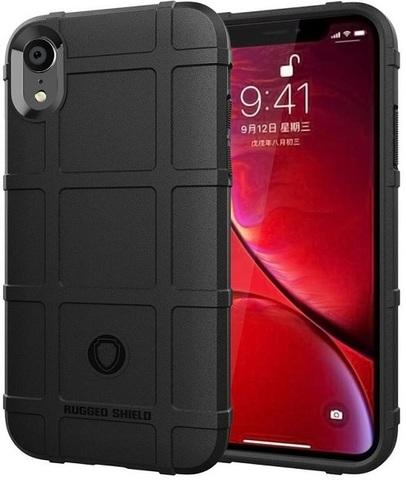 Чехол для iPhone XR цвет Black (черный), серия Armor от Caseport
