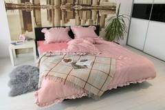 Комплект постельного белья GOCHU Verdi set K розовый