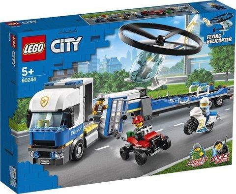 Lego konstruktor City Police Helicopter Transport