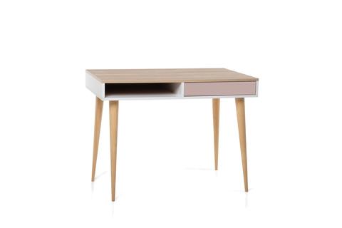 Стол LX 01 (розовый антик)