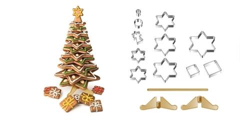 Рождественская елка Tescoma DELICIA, набор формочек