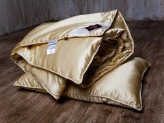 Одеяло шелковое стеганое 200x220 «Great Silk Grass»